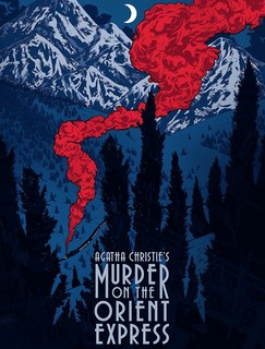 Poster Agatha Christie: Murder on the Orient Express