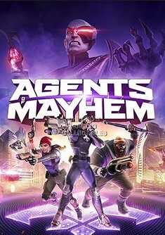 Poster Agents of Mayhem