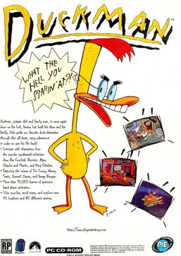 Poster Duckman: The Graphic Adventures of a Private Dick