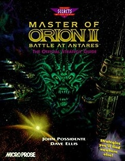 Poster Master of Orion II: Battle at Antares
