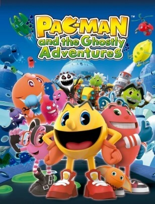 Poster Pac-Man and the Ghostly Adventures