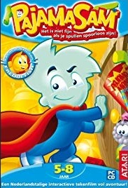 Poster Pajama Sam: Life Is Rough When You Lose Your Stuff!