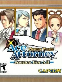 Poster Phoenix Wright: Ace Attorney − Justice for All