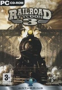 Poster Railroad Tycoon 3