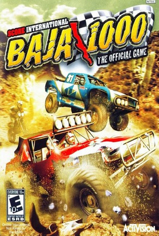 Poster SCORE International Baja 1000