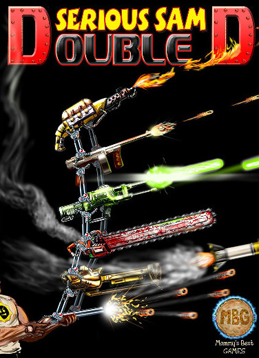 Poster Serious Sam Double D