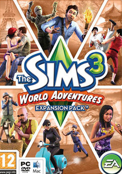 Poster The Sims 3: World Adventures