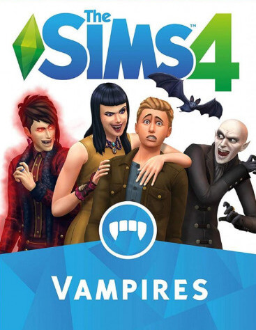 Poster The Sims 4: Vampires