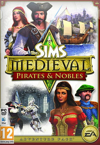 Poster The Sims Medieval: Pirates and Nobles