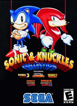 Poster Sonic & Knuckles Collection