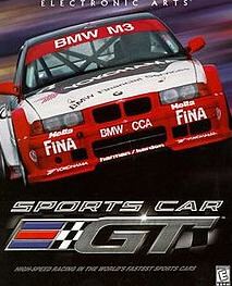 Poster Sports Car GT