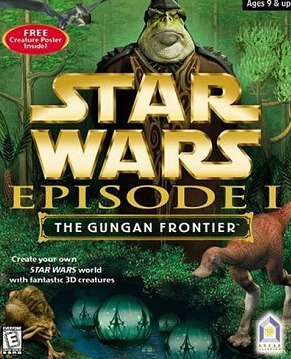 Poster Star Wars Episode I: The Gungan Frontier