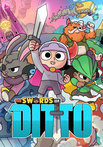 Poster The Swords of Ditto