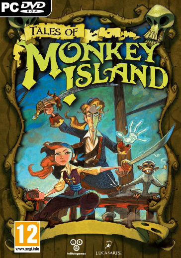 Poster Tales of Monkey Island