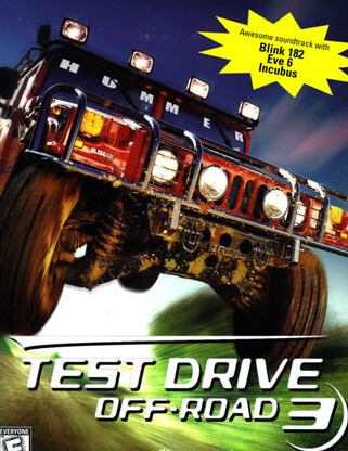 Poster Test Drive: Off-Road 3