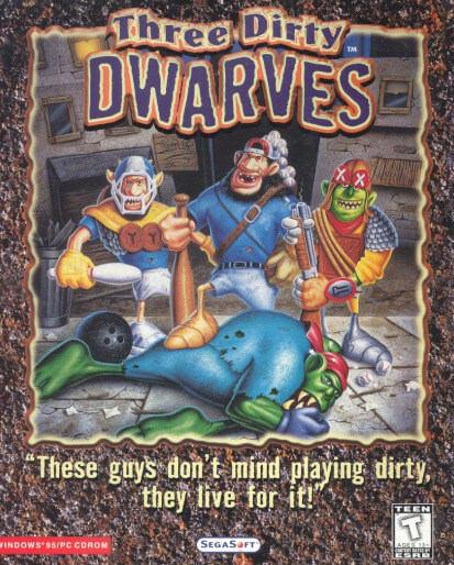Poster Three Dirty Dwarves
