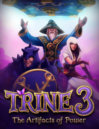 Poster Trine 3: The Artifacts of Power
