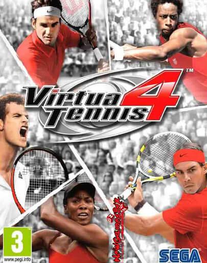 Poster Virtua Tennis 4