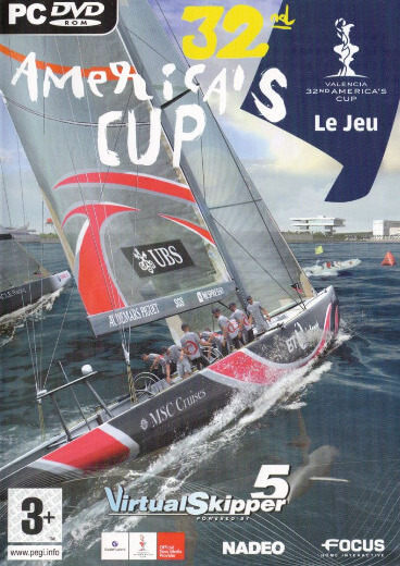 Poster Virtual Skipper 5: 32nd America's Cup: The Game