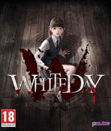 Poster White Day: A Labyrinth Named School