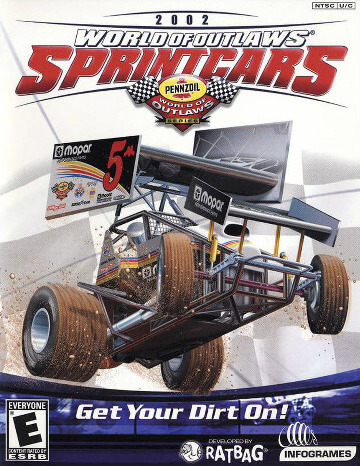 Poster World of Outlaws: Sprint Cars 2002