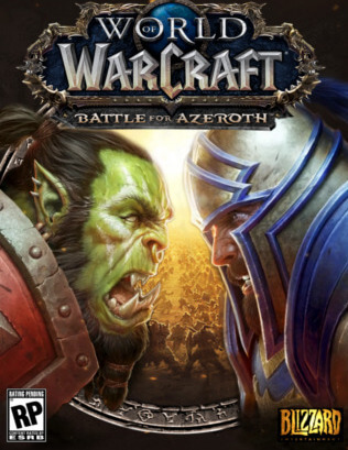Poster World of Warcraft: Battle for Azeroth