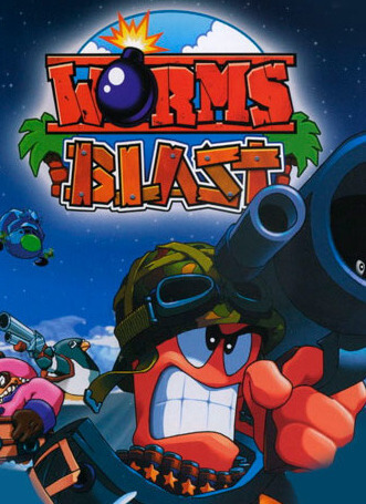 Poster Worms Blast