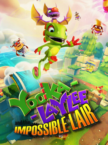 Poster Yooka-Laylee and the Impossible Lair
