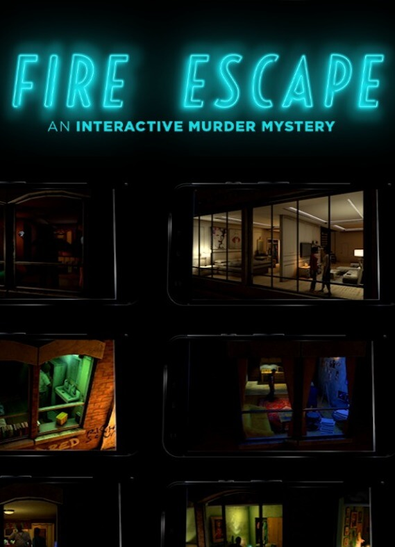 Poster Fire Escape